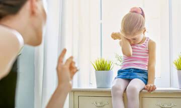 Η σωματική τιμωρία δεν βελτιώνει τη συμπεριφορά των παιδιών σύμφωνα με μελέτη
