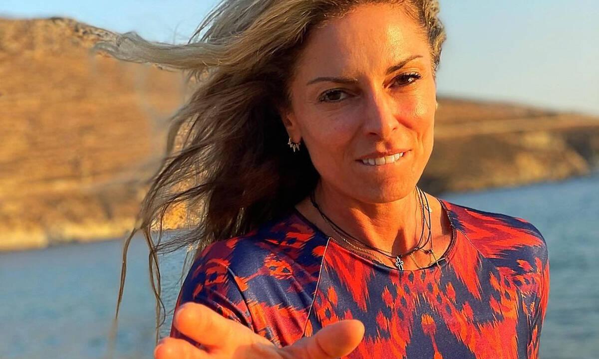 Κατερίνα Λάσπα: Η απίθανη selfie με τις κόρες της - Μεγάλωσαν πολύ
