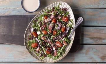 Καλοκαιρινή σαλάτα με χταπόδι - Νόστιμη και χορταστική
