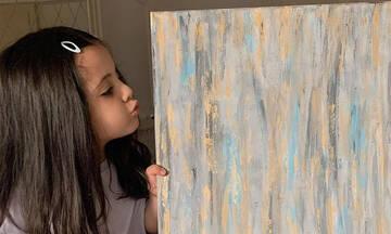 Jude Nusir: Η 4χρονη ζωγράφος που εντυπωσιάζει με τις δημιουργίες της