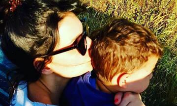 Μαρίνα Ασλάνογλου: Η τρυφερή φωτογραφία με τον 3,5 ετών γιο της