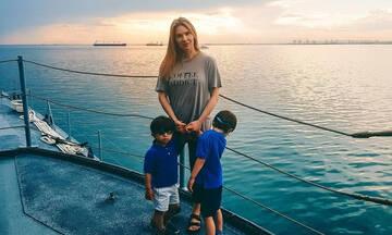 Χριστίνα Αλούπη: Η φώτο των παιδιών της πριν από τις πυρκαγιές & το μήνυμά της