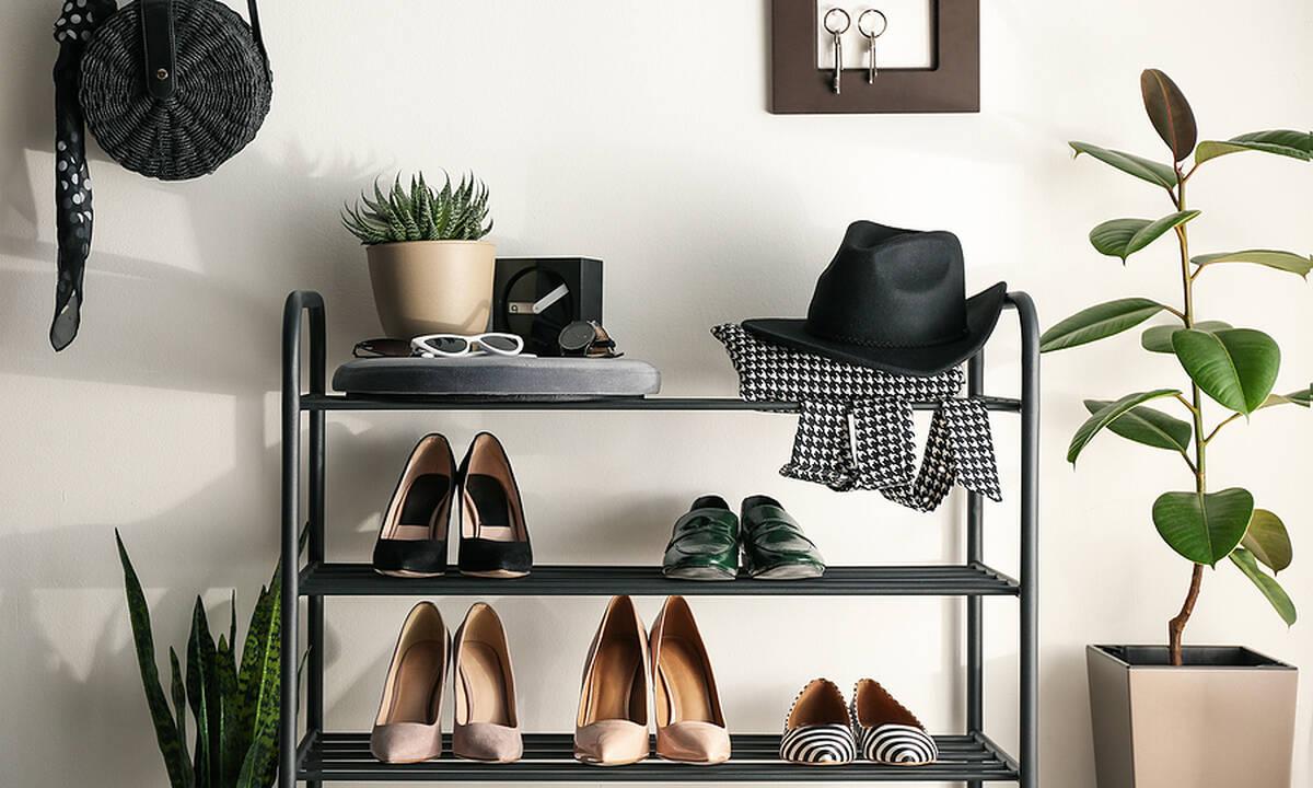 Tips για μαμάδες: Έξυπνες ιδέες για να αποθηκεύσετε τα παπούτσια σας