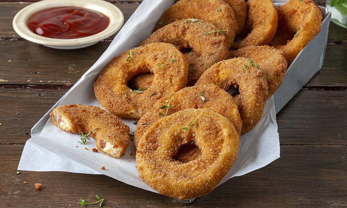 Σπιτικά onion rings - Αυτή τη συνταγή αξίζει να τη δοκιμάσετε