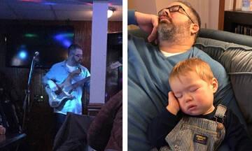 Χιουμοριστικές φωτογραφίες γονιών για τη ζωή πριν και μετά τα παιδιά (εικόνες)