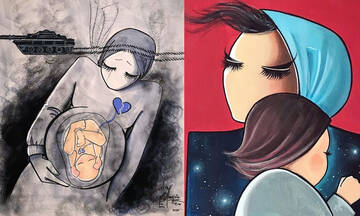 Shamsia Hassani: Tα σκίτσα αυτής της νεαρής Αφγανής θα σας καθηλώσουν