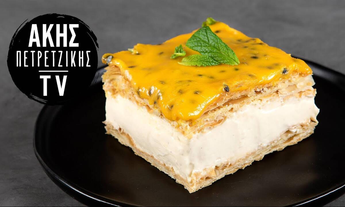 Γλυκό ψυγείου με passion fruit - Το καλύτερο γλυκό γι΄αυτή την εποχή