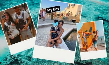 Ιδού τι έκαναν οι διάσημοι γονείς με τα παιδιά τους το Σαββατοκύριακο