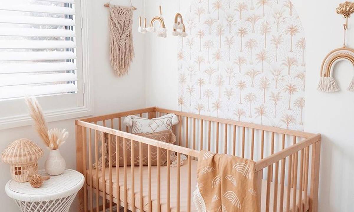 Δείτε το boho βρεφικό δωμάτιο που έφτιαξε αυτή η μαμά για το μωρό της