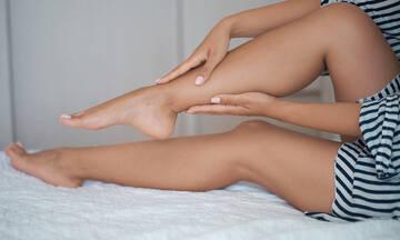 Κράμπα στο πόδι: 5 κοινές αιτίες σε εικόνες