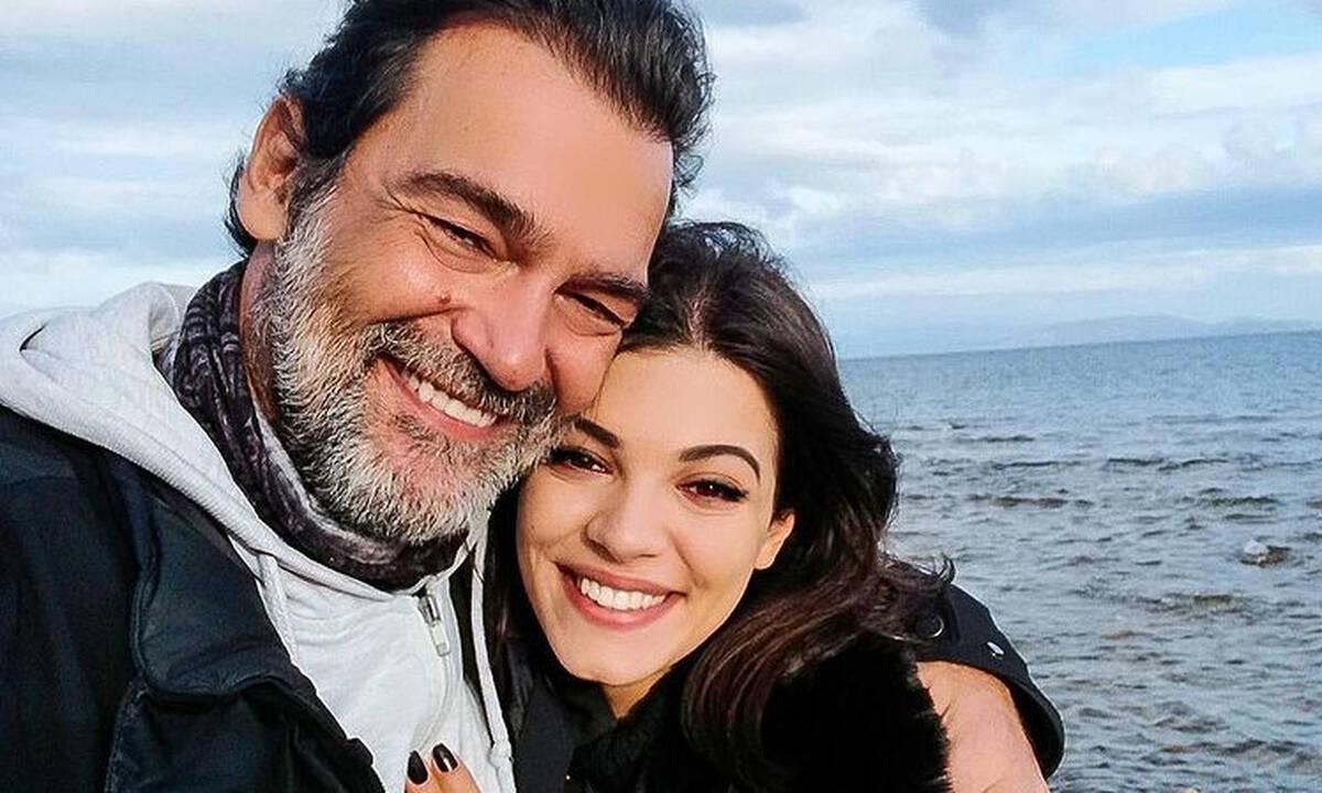 Κωνσταντίνος Καζάκος: Σπάνια φωτογραφία με την 21χρονη κόρη του