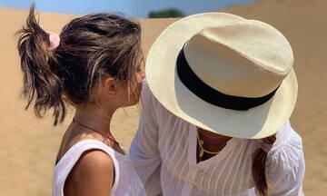 Έμιλυ Κόλιανδρη: Δείτε τις δύο νέες φώτο που δημοσίευσε με την κόρη της