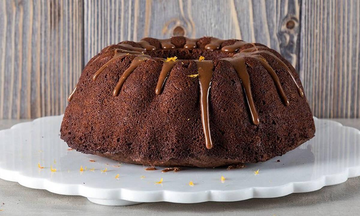 Κέικ πικρής σοκολάτας - Έτοιμο σε λιγότερο από μία ώρα