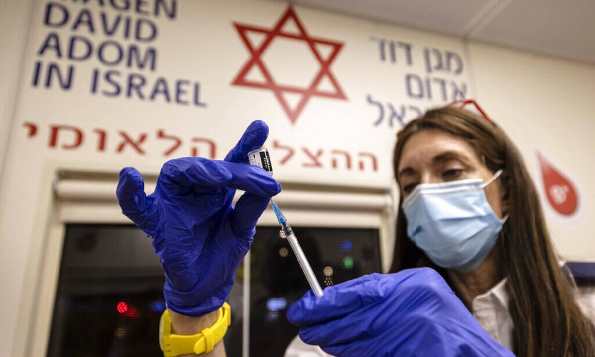 Κορονοϊός - Ισραήλ: Τρίτη δόση εμβολίου της Phizer για πλήρως εμβολιασμένους άνω των 12 ετών
