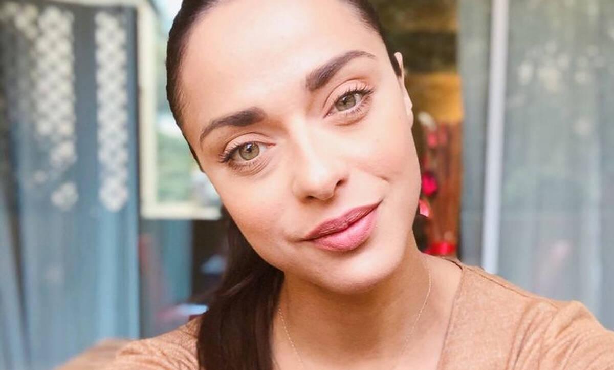 Ευαγγελία Συριοπούλου: Η τρυφερή φώτο με τον σύντροφό της στον 7ο μήνα κύησης