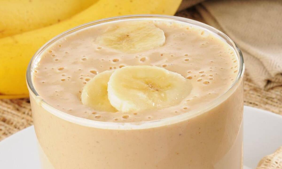 Συνταγές για παιδιά: Smoothie με μπανάνα και παγωτό βανίλια