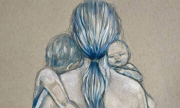 Υπέροχα σκίτσα που υμνούν την μητρότητα