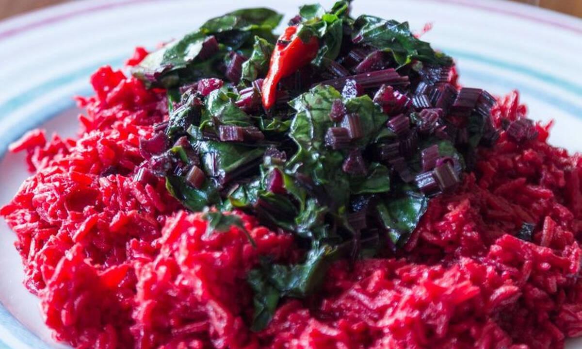 Πικάντικο ρύζι παντζαριού - Η συνταγή για να το φτιάξετε