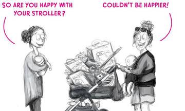 Μαμά περιγράφει μέσα από σκίτσα την καθημερινότητά της (εικόνες)