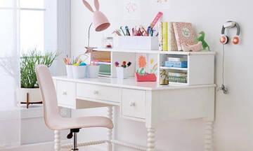 Ξανά σε τάξη: Παιδικά γραφεία για μικρούς και μεγάλους χώρους