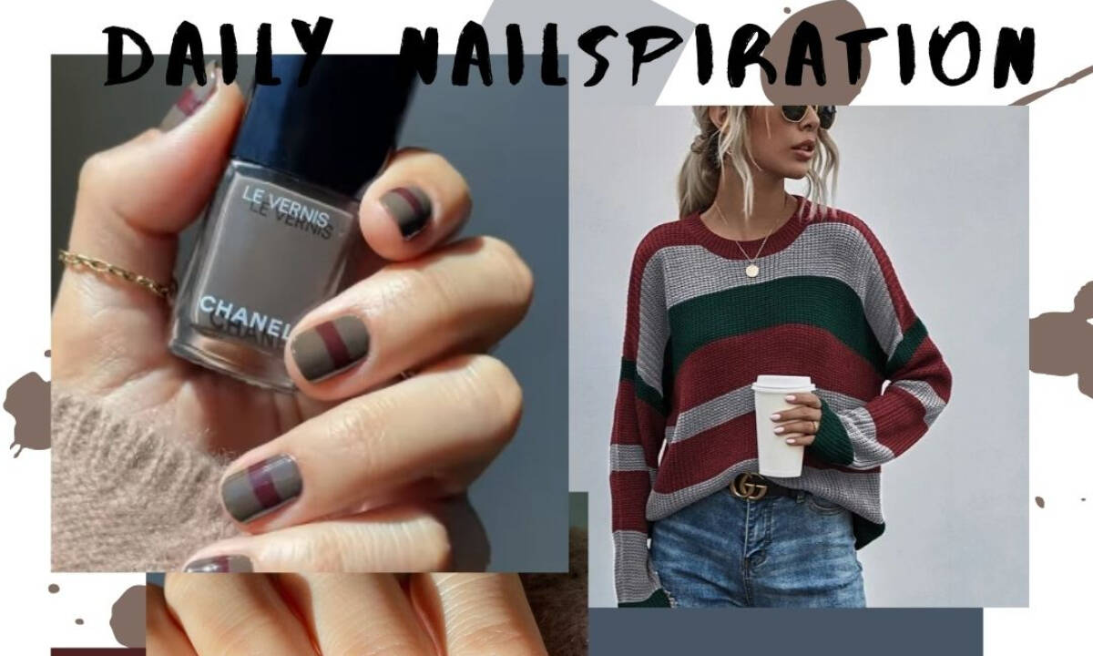 DIY Time! Το πιο εύκολο και «ζεστό» nail art για το φθινόπωρο