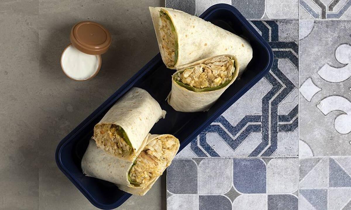 Σνακ για παιδιά: Burritos με κοτόπουλο και λαχανικά