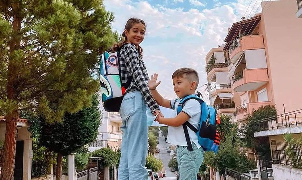Πρώτη μέρα στο σχολείο: Οι αναρτήσεις των διάσημων Ελλήνων γονιών (εικόνες)