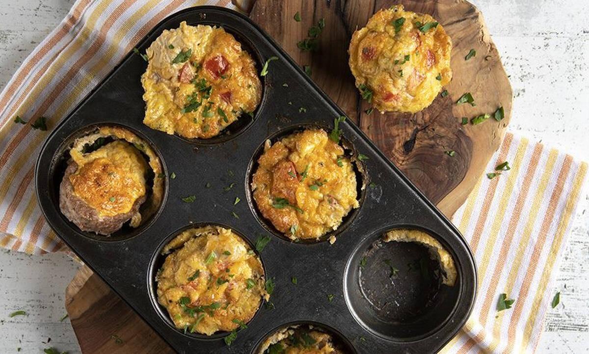 Κολατσιό για το σχολείο: Φτιάξτε χορταστικά muffins με κιμά