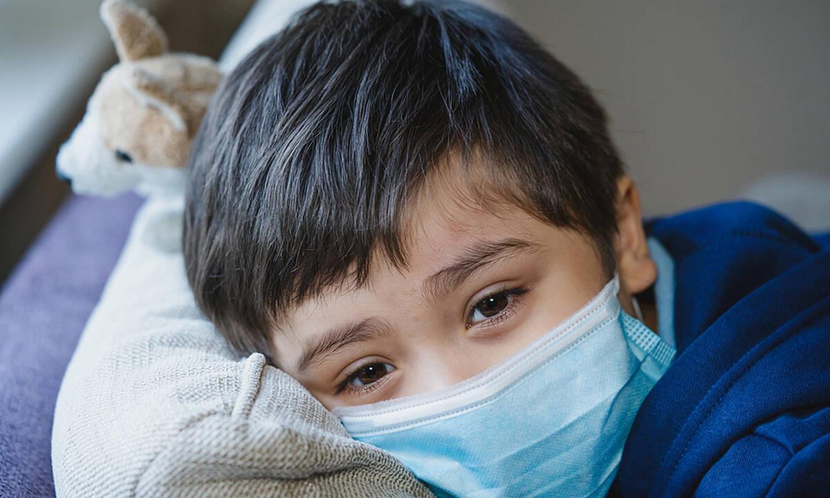 Τα πιο κοινά συμπτώματα της μετάλλαξης Δέλτα στα παιδιά