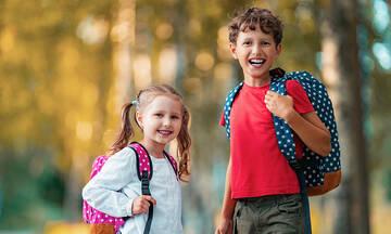 Το σχολείο και η καθημερινή ρουτίνα βοηθούν την υγεία του παιδιού