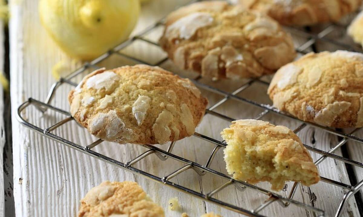 Γλυκά σνακ για το σχολείο: Κουλουράκια με λεμόνι και κάρδαμο