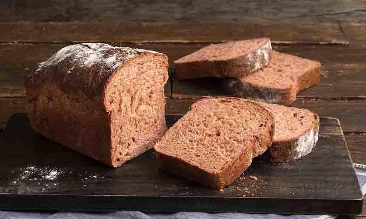 Ψωμί παντζαριού με αλεύρι ολικής άλεσης - Πώς θα το φτιάξετε