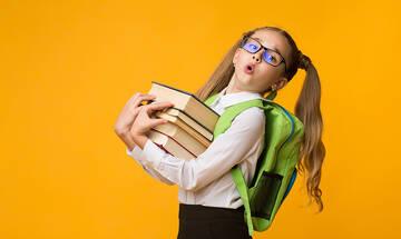 Βάρος σχολικής τσάντας: Πόσα κιλά πρέπει να ζυγίζει - Τι λένε οι ειδικοί