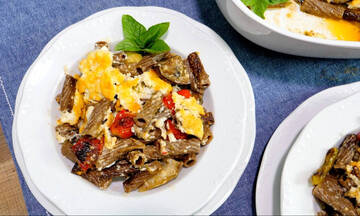 Υγιεινές συνταγές για παιδιά: Μακαρονάδα μπριάμ