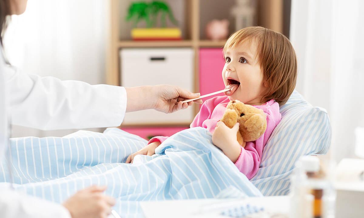 Πονόλαιμος σε βρέφη και νήπια: Συμπτώματα και άμεση αντιμετώπιση
