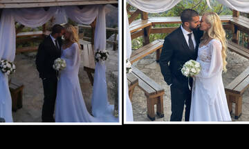 Παντρεύτηκε η Τζούλια Νόβα! Οι πρώτες εικόνες από τον πολιτικό της γάμο με τον Μιχάλη Βιτζηλαίο!