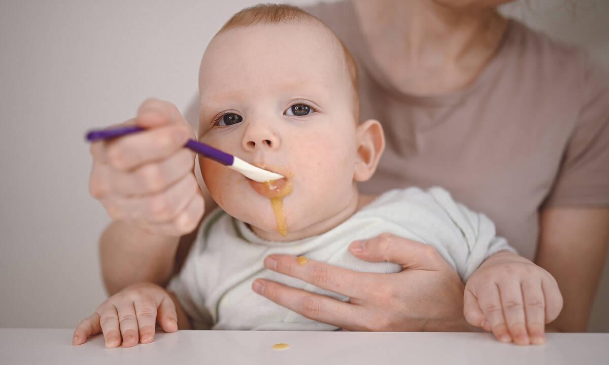Διατροφή μωρού: Οκτώ συνταγές με αλεσμένες τροφές