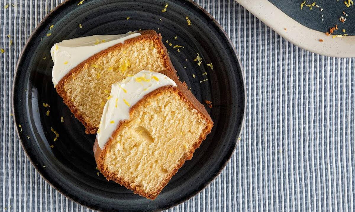 Συνταγές για παιδιά: Pound cake με τυρί κρέμα