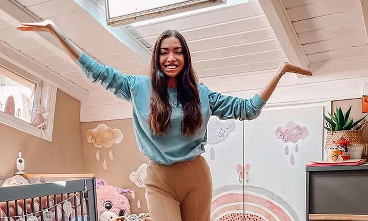 Όλγα Φαρμάκη: Το παιδικό δωμάτιο της κόρης της είναι βγαλμένο από παραμύθι
