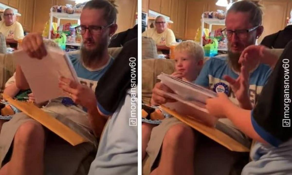 6χρονος ζητά από τον θετό πατέρα του να τον υιοθετήσει- Δείτε την αντίδρασή του