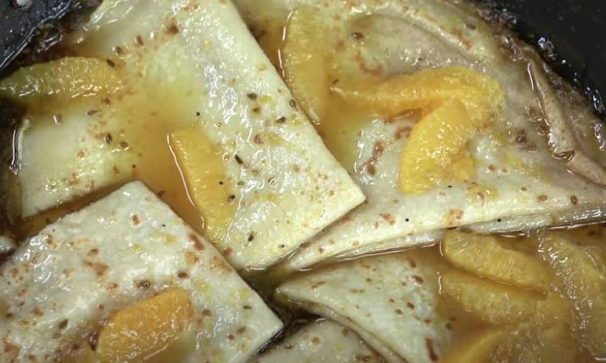 Κρεπ σουζέτ - Εύκολη συνταγή για γλυκό με κρέπες