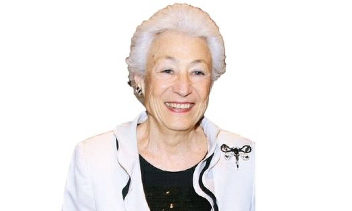 Έφυγε από τη ζωή η Πρόεδρος του Ιδρύματος Μείζονος Ελληνισμού  Ουρανία Εφραίμογλου
