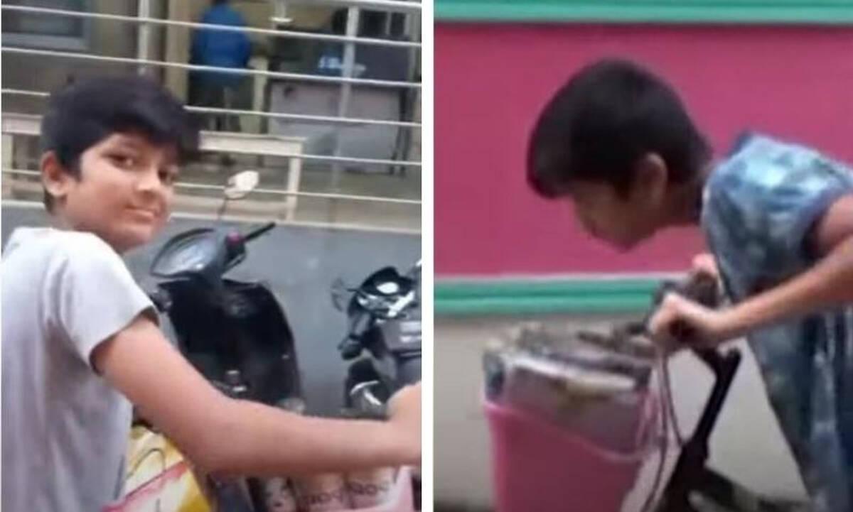 Μαθητής μοιράζει εφημερίδες με το ποδήλατό του και γίνεται viral- Δείτε γιατί