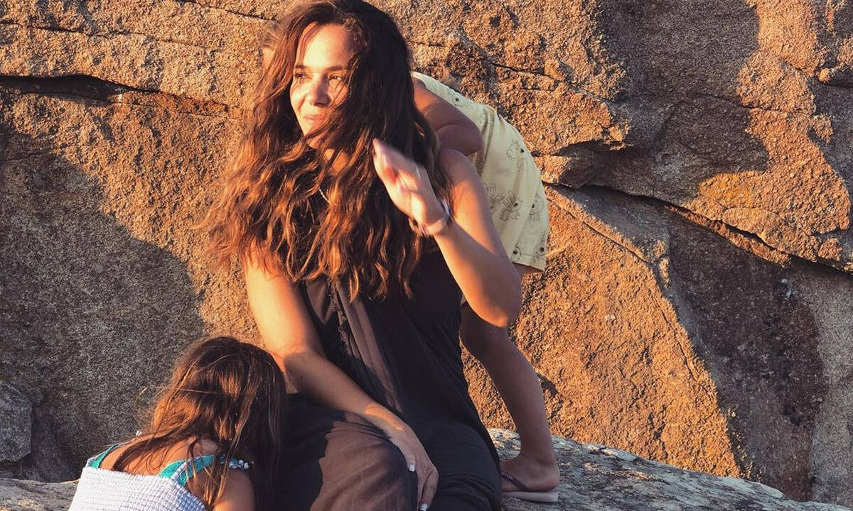 Ελιάνα Χρυσικοπούλου: Η διασκεδαστική κατασκευή που έφτιαξε για τις κόρες της