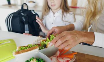 Εβδομαδιαίο μενού για σχολικά γεύματα