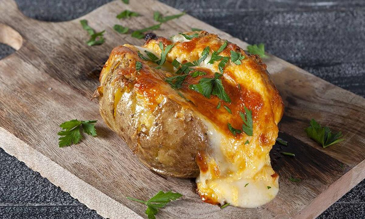 Πατάτες jacket : Γρήγορη και εύκολη συνταγή για όλη την οικογένεια