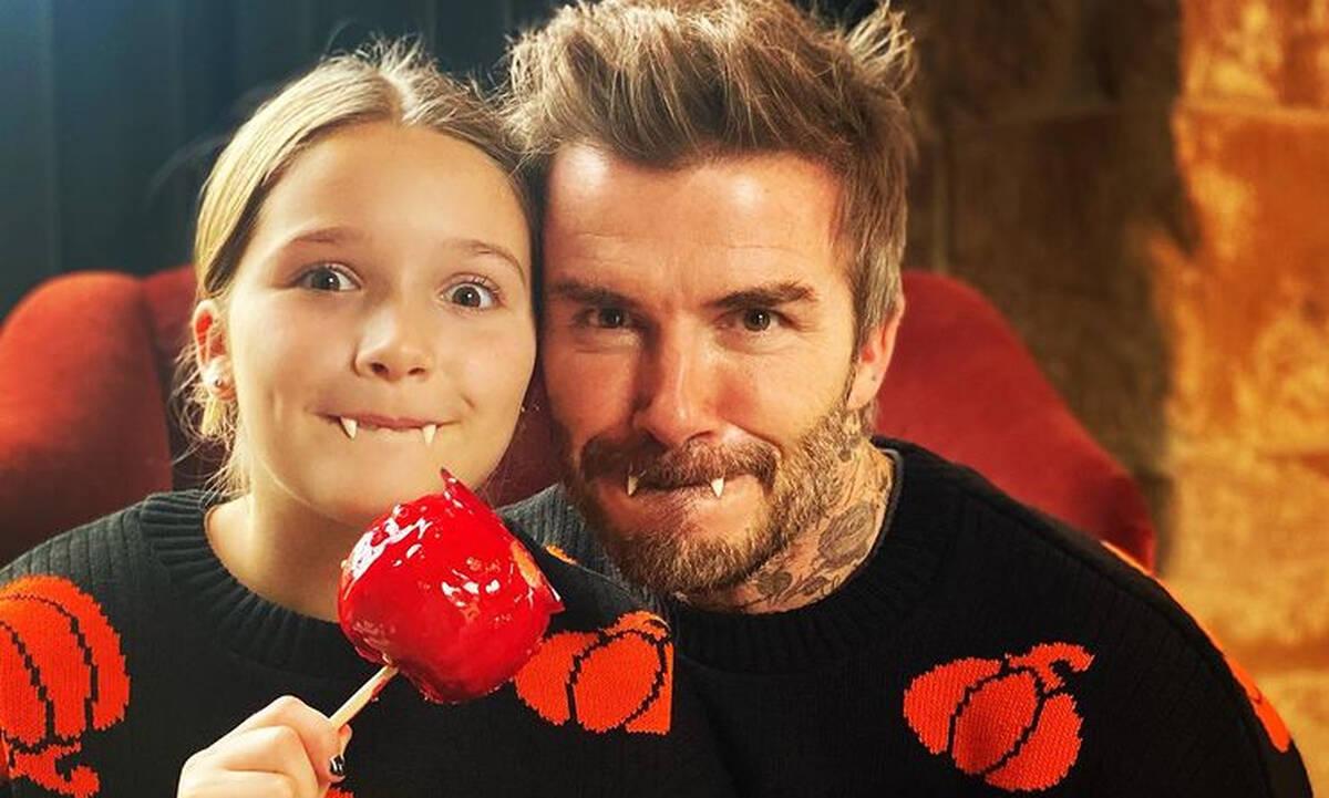 David Beckham: Δημοσίευσε δύο νέες υπέροχες φωτογραφίες της κόρης του