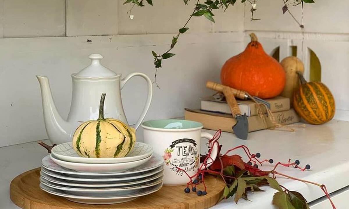 Φθινοπωρινή διακόσμηση σπιτιού με κολοκύθες – Πάρτε ιδέες (εικόνες)