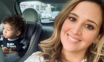 Κλέλια Πανταζή: Ο γιος της έπεσε με τα μούτρα στο πιάτο του (εικόνες)