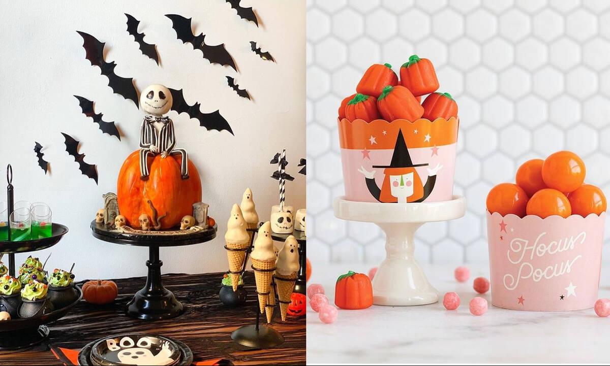 Παιδικό πάρτι Halloween: Ιδέες για τον μπουφέ (vid)
